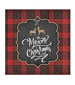 Thirstystone® Plaid Joy Deer Coasters