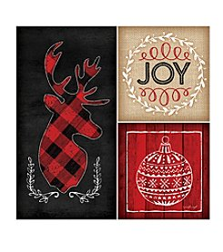 Thirstystone® Plaid Christmas Coasters
