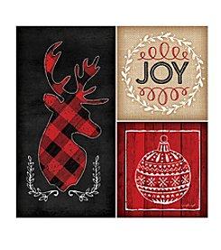 Thirstystone® Plaid Christmas Coasters