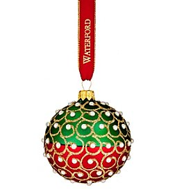 Waterford® Christmas Simulated Pearls Ball Ornament
