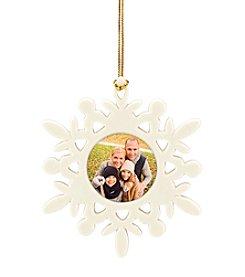 Lenox® Selfie Snowflake Frame Ornament