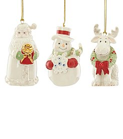 Lenox® Gemmed Set of 3 Ornaments