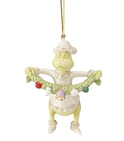 Lenox® Grinch Stealing Garland Ornament