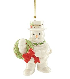 Lenox® 2016 Happy Holly Days Snowman Ornament