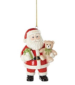 Lenox® 2016 Good Tidings Santa Ornament