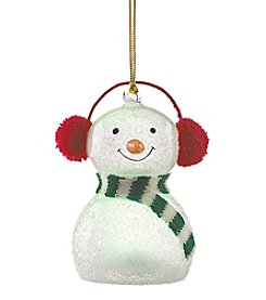 Lenox® Wonderball Snowman With Ear Muffs Ornament