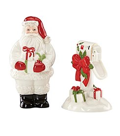 Lenox® Holiday Santa & Mailbox Salt And Pepper Shakers