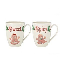 Lenox® Holiday Sweet & Spicy Mugs Set