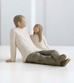 DEMDACO® Willow Tree® Figurine - Father And Daugther