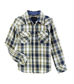 Lucky Brand® Boys' 4-20 Long Sleeve Plaid Shirt
