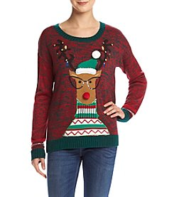 It's Our Time® Nerdy Reindeer Sweater