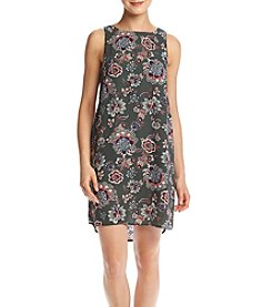 Pink Rose® Paisley Sheath Dress