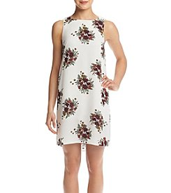 Pink Rose® Floral Sheath Dress