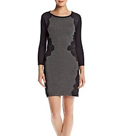 A. Byer Side Lace Sweater Dress