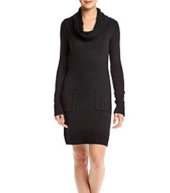 A. Byer Cowl Neck Sweater Dress