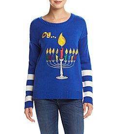 It's Our Time® Light Up Menorah Sweater