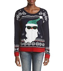 It's Our Time® Light Up Santa Sweater