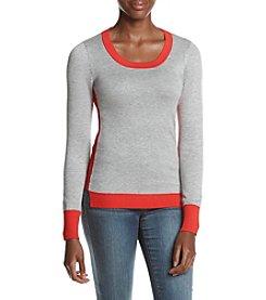 Pink Rose® Color Block Sweater