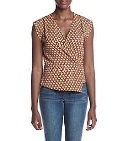 XOXO® Wrap Peplum Top
