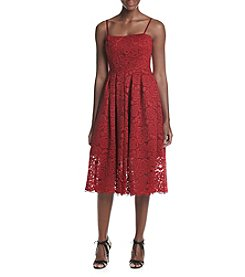 Vera Wang® Jersey Lace Dress