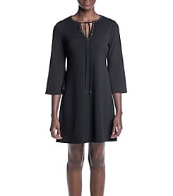 Jessica Simpson Matte Jersey Shift Dress