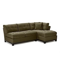 HM Richards Beckham 2-pc. Espresso Sectional