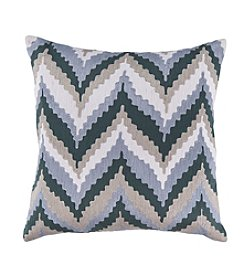 Chic Designs Ikat Chevron Decorative Pillow