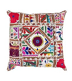 Chic Designs White Karma Decorative Pillow