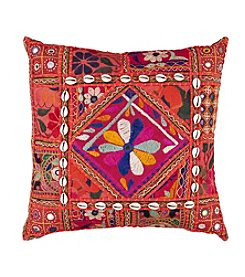 Chic Designs Red Karma Decorative Pillow