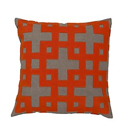 Chic Designs Layered Blocks Decorative Pillow