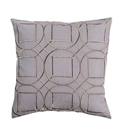 Chic Designs Circle Skyline Decorative Pillow