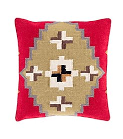 Chic Designs Diamond Cotton Kilim Decorative Pillow