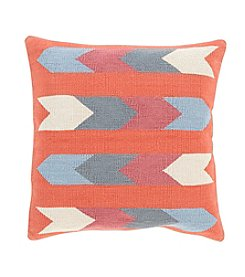 Chic Designs Arrow Cotton Kilim Decorative Pillow