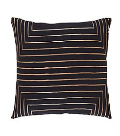 Chic Designs Striped Crescent Decorative Pillow