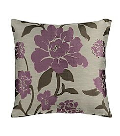 Chic Designs Purple Blossom Decorative Pillow