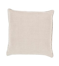 Chic Designs Linen Piped Decorative Pillow