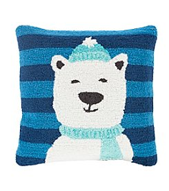 Chic Designs Winter Polar Bear Decorative Pillow