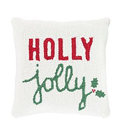 Chic Designs Winter Holly Decorative Pillow