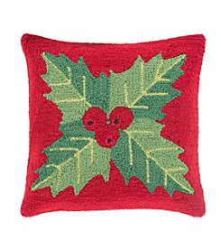 Chic Designs Winter Mistletoe Decorative Pillow