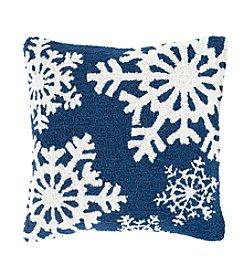 Chic Designs Winter Snowflakes Decorative Pillow