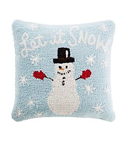Chic Designs Winter Snowman Decorative Pillow