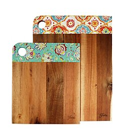 Fiesta® 2-pc. Acacia Wood Patterned Cutting Board Set