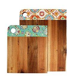 Fiesta® 2-pc. Acacia Wood Patterned Cutting Board Set
