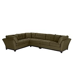 HM Richards® Beckham 3-pc. Espresso Sectional