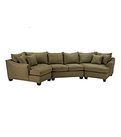 HM Richards Bryant 3-pc. Pine Sectional