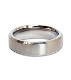 Steel Impressions Stainless Steel Beveled Edge Ring