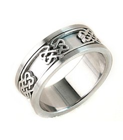 Steel Impressions Stainless Steel Celtic Knot Ring