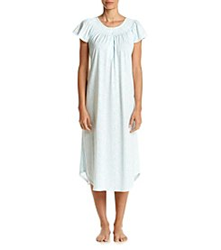Miss Elaine® Printed Silky Nightgown