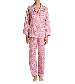 Miss Elaine® Foulard Pajama Set