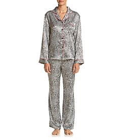 Linea Donatella® Satin Pajama Set
